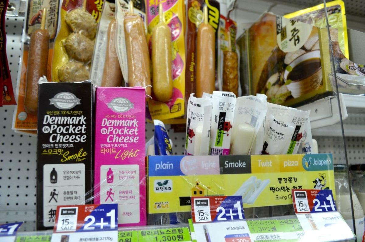 Korean Convenience Stores sausage