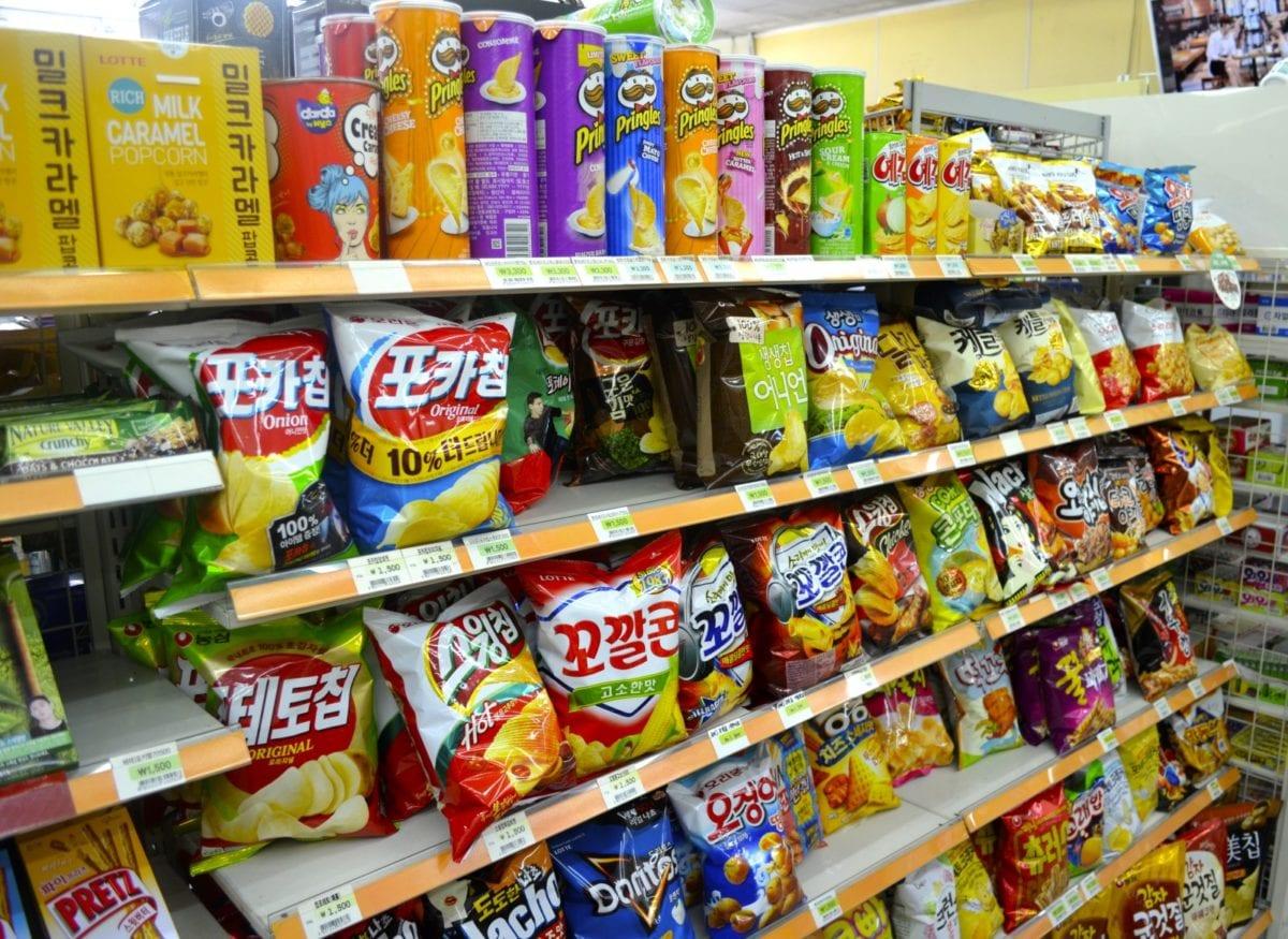 korean convenience stores chips