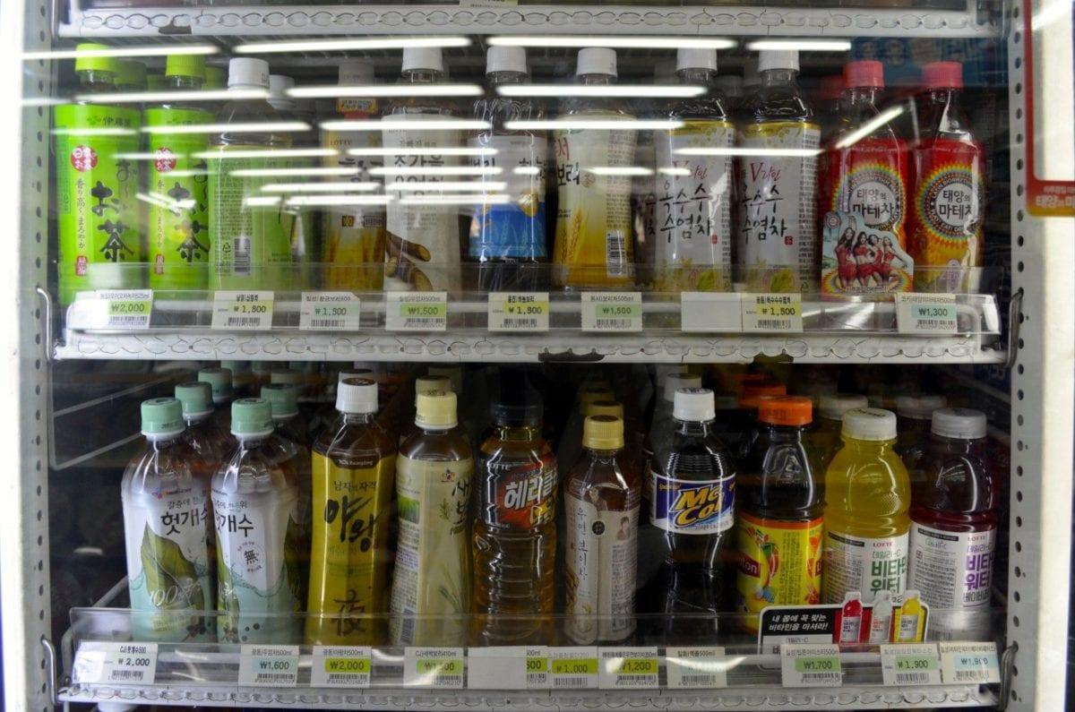 korean convenience stores teas