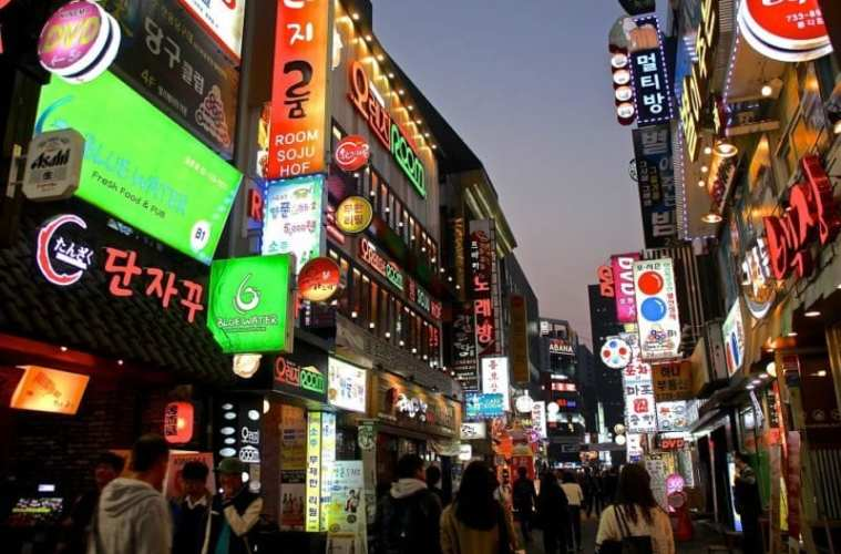 seoul in 24 hours myeongdong