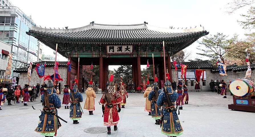 the best palaces to see in seoul deoksugung palace