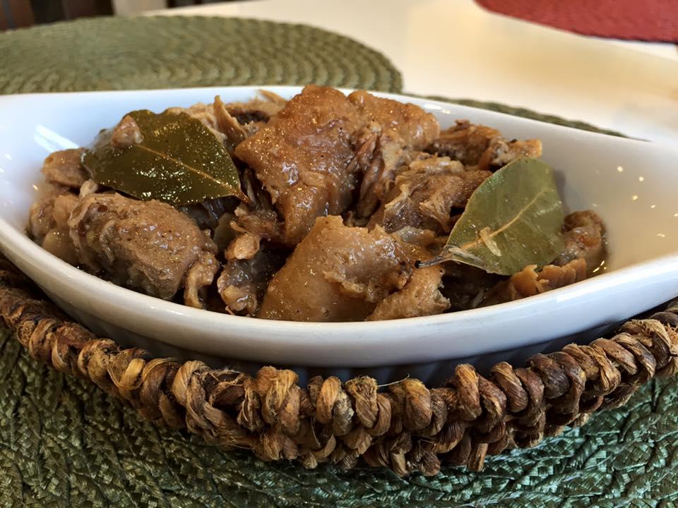 Filipino Food in Seoul Adobo - Kusina
