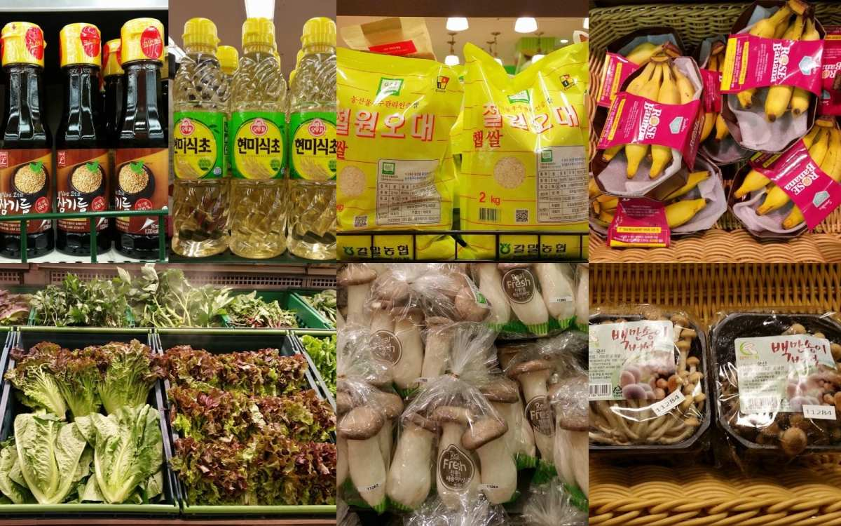 Korean grocery tips vegetables