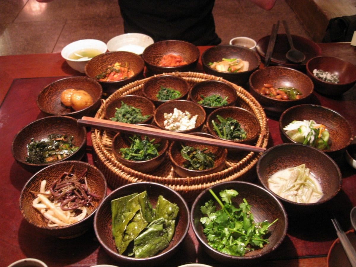 Study Abroad in South Korea food