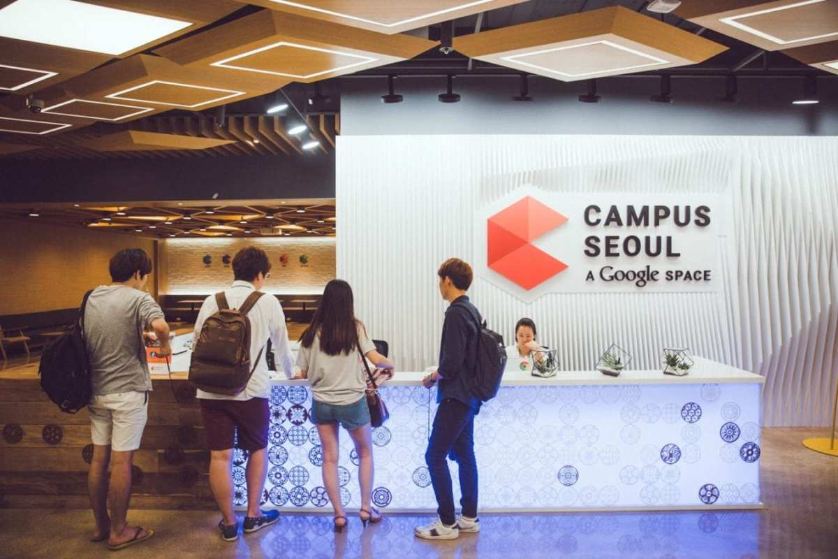coworking spaces seoul google campus gangnam
