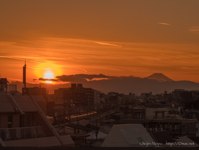 富士山 小田急 世田谷