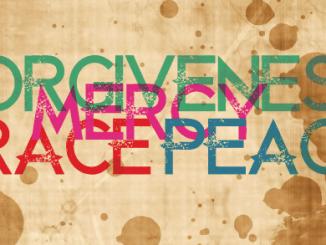 Forgiveness Grace Mercy Peace