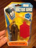 Walgreens David Tennant Figure in packaging
