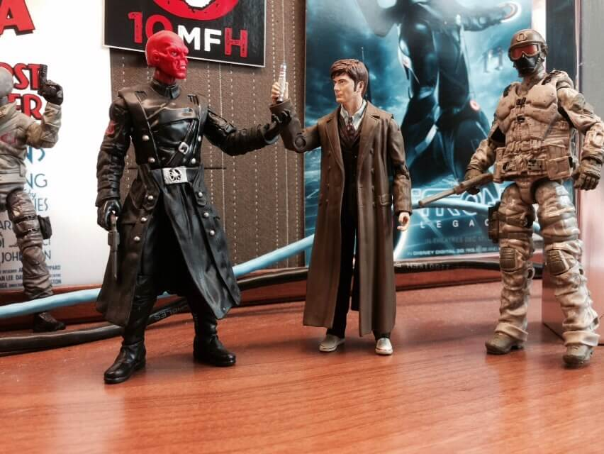 Red Skull, Doctor Who and G.I. Joe