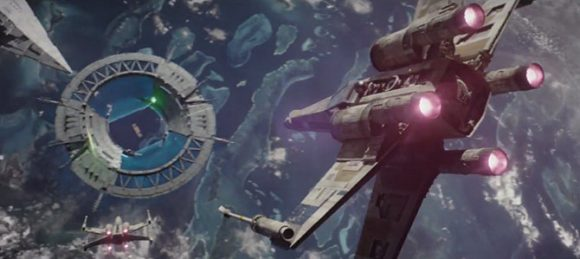 Rogue One Space Battle