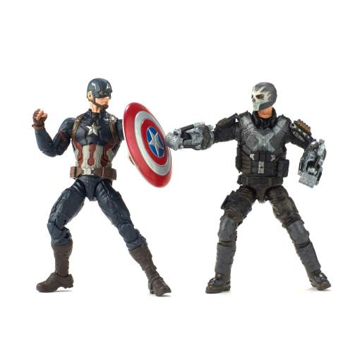 Hasbro 2018 MCU Civil War Captain America and Crossbones 2 pack figure