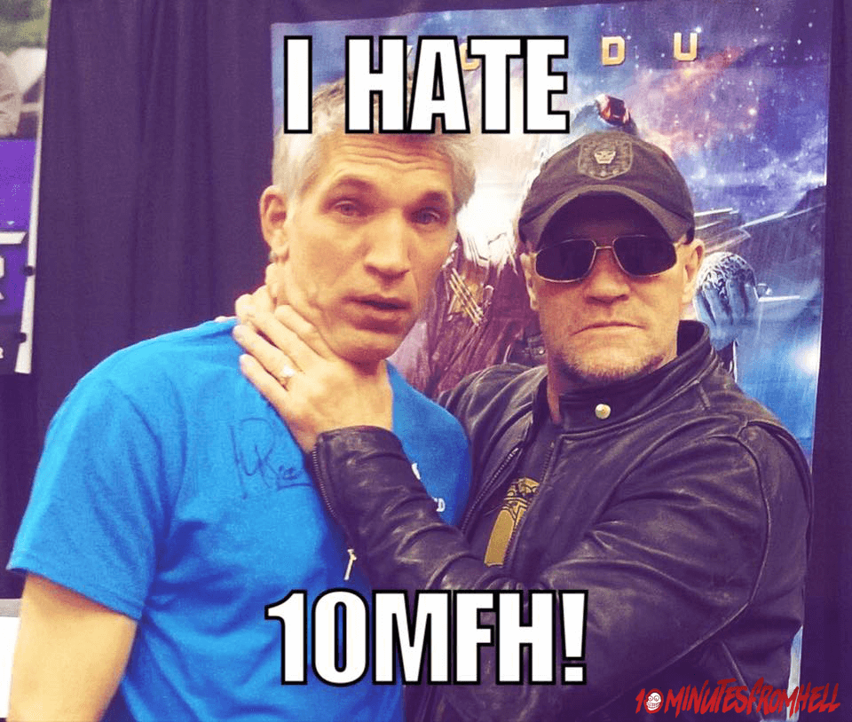 Michael Rooker Hates 10mfh