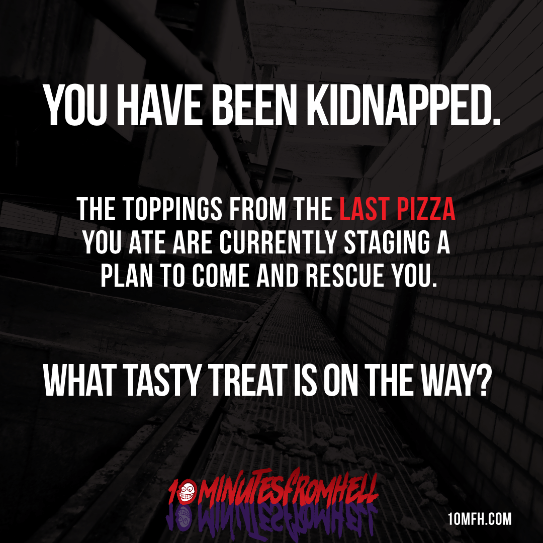 Kidnapped Meme Pizza