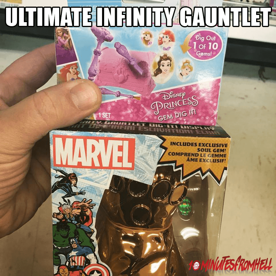 ultimate Infinity Gauntlet meme
