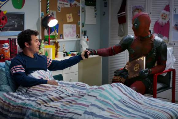Deadpool and Fred Savage