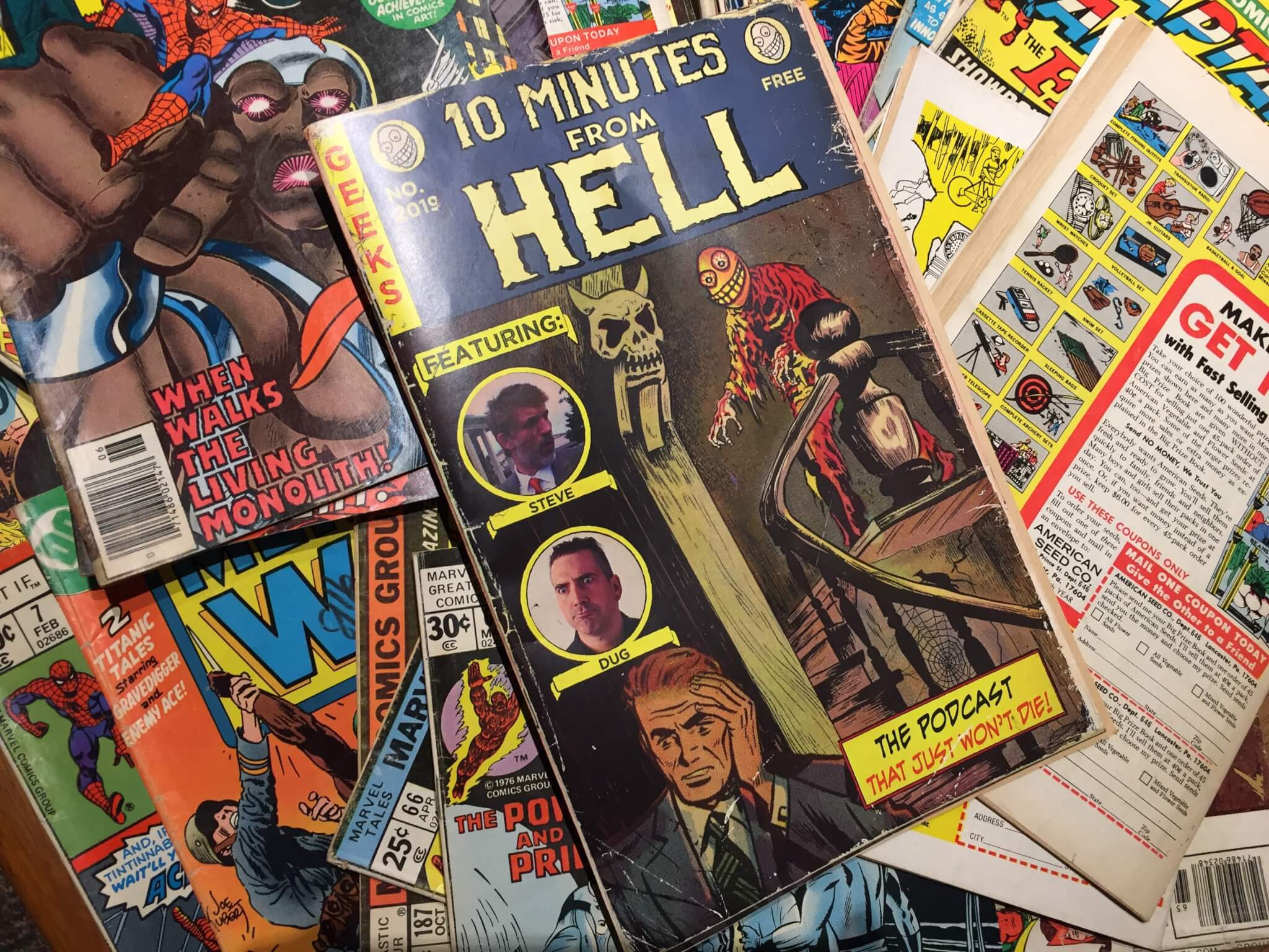 10mfh Retro Comics