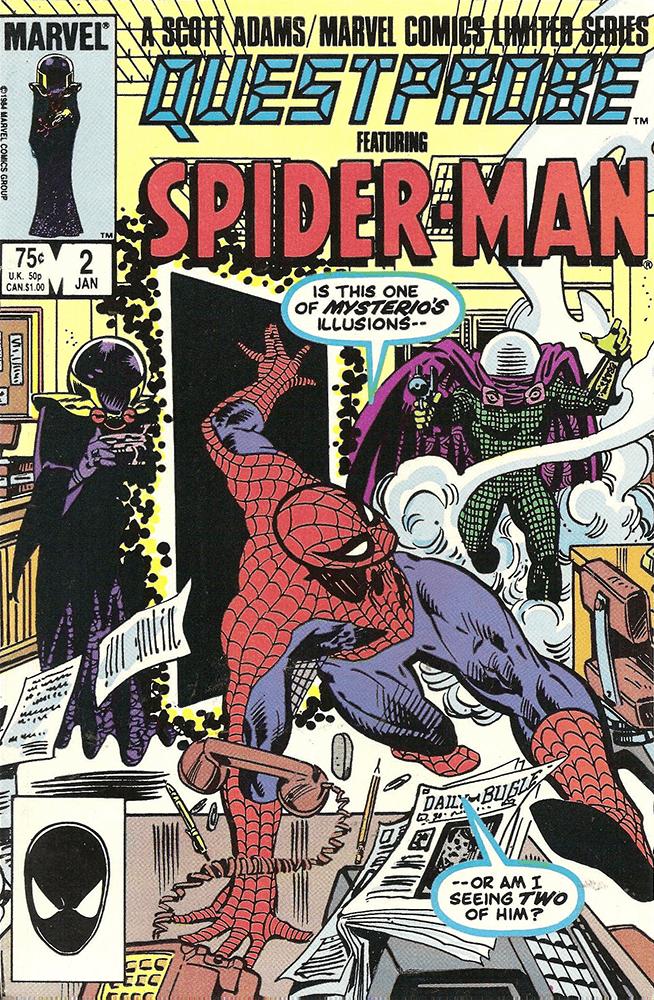 Spiderman Mysterio Cover