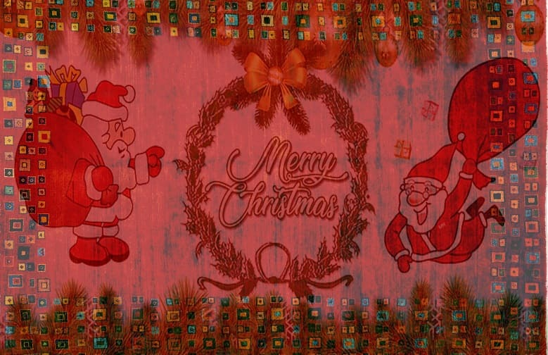 Enrich your Interiors with Beautiful Christmas Rugs and Welcome Mats