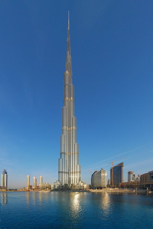 Burj Khalifa, Dubai - the highest in the world