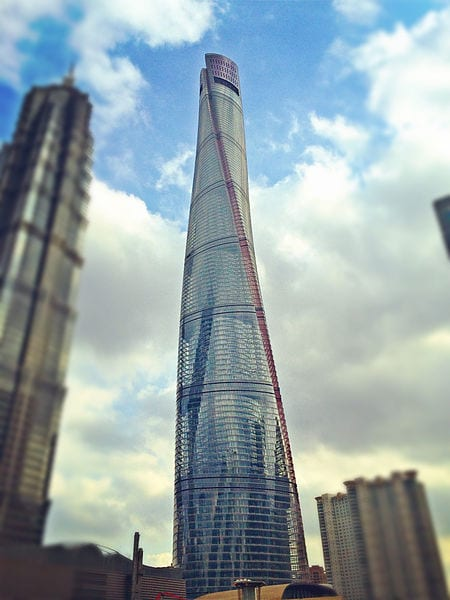 Shanghai Tower, Shanghai, China - second tallest building in the world