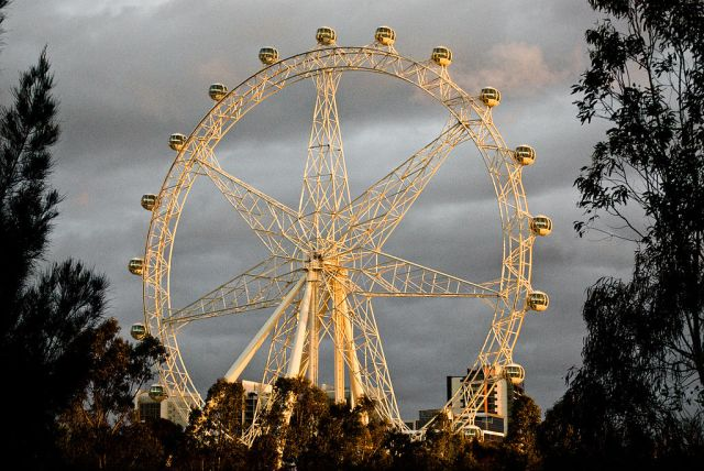 Most Awesome Ferris wheels: Melbourne Star, Australia