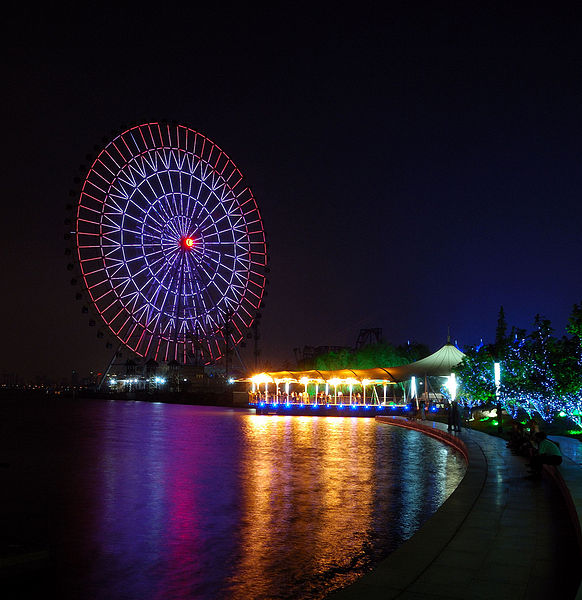 Most Awesome Ferris wheels: Suzhou Ferris Wheel, China