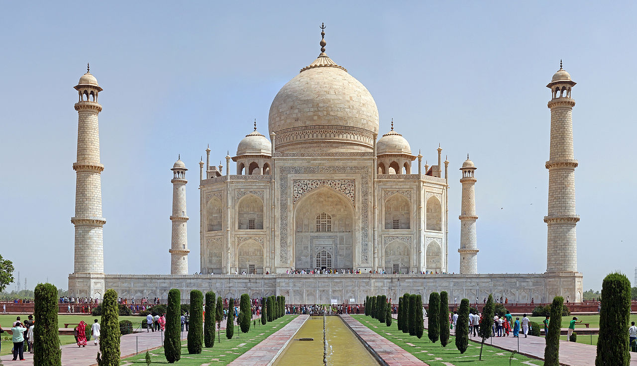 Most Famous Domes The Taj Mahal Source Wiki