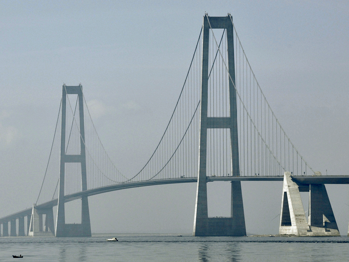 Most Famous Bridges In The World: Great Belt Bridge, Denmark