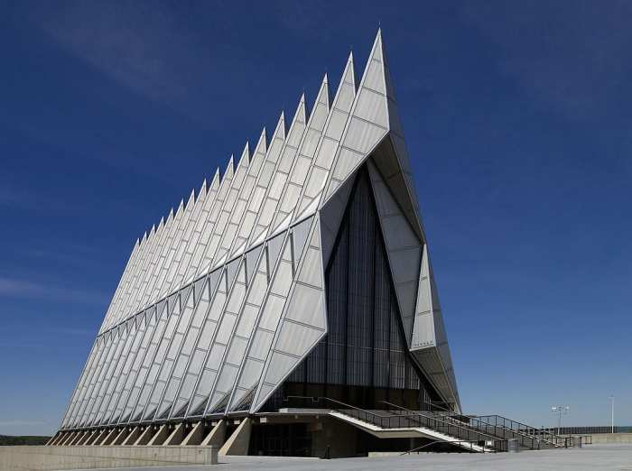 Most Unique Churches In The World: Air Force Academy Cadet Chapel, Colorado