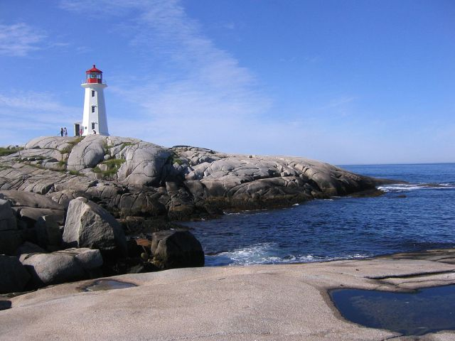 Most Famous Lighthouses In The World: Peggys Point Lighthouse
