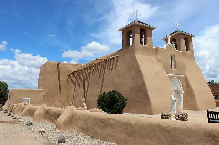 San Francisco de Asis Mission Church, Taos, New Mexico