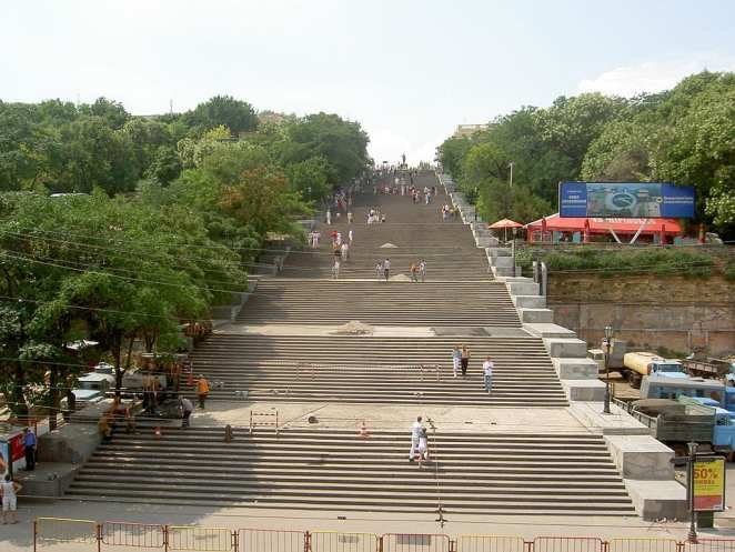 Staircases Worth The Climb: Potemkin Stairs, Odessa, Ukraine