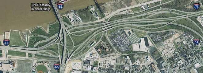 Mind Blowing Interchanges: Kennedy Interchange, Louisville, Kentucky