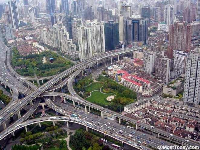 Mind Blowing Interchanges: Puxi Viaduct, Shangahi