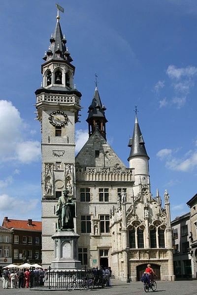 Amazing Bell Towers From Around The World: The belfry tower of Schepenhuis, Aalst