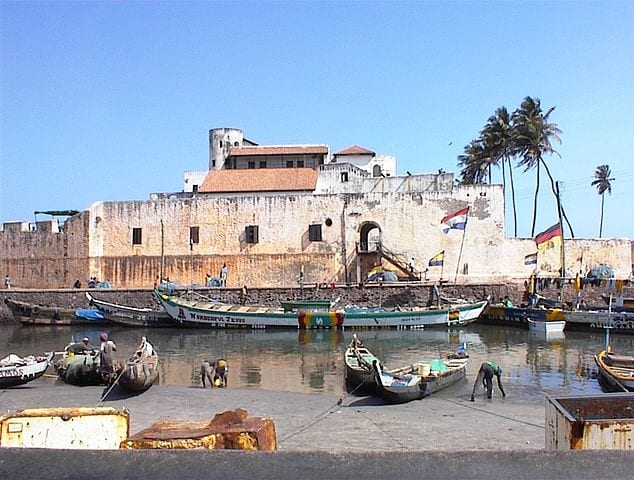 Historic Prisons From Around The World: Elmina Castle, Ghana