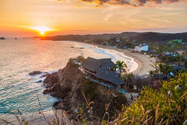 Most Dangerous Beaches - Playa Zipolite