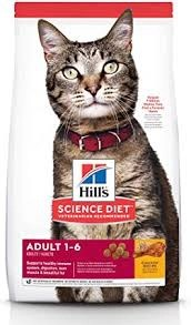 Hill's Science Diet Adult Chicken Recipe Dry Cat Food1