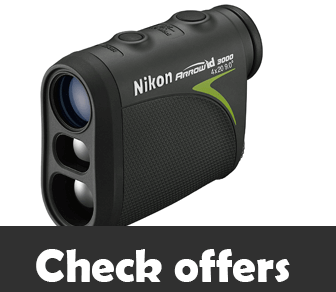 Nikon Arrow ID 3000 Bowhunting Rangefinder