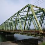 橋のトラス構造