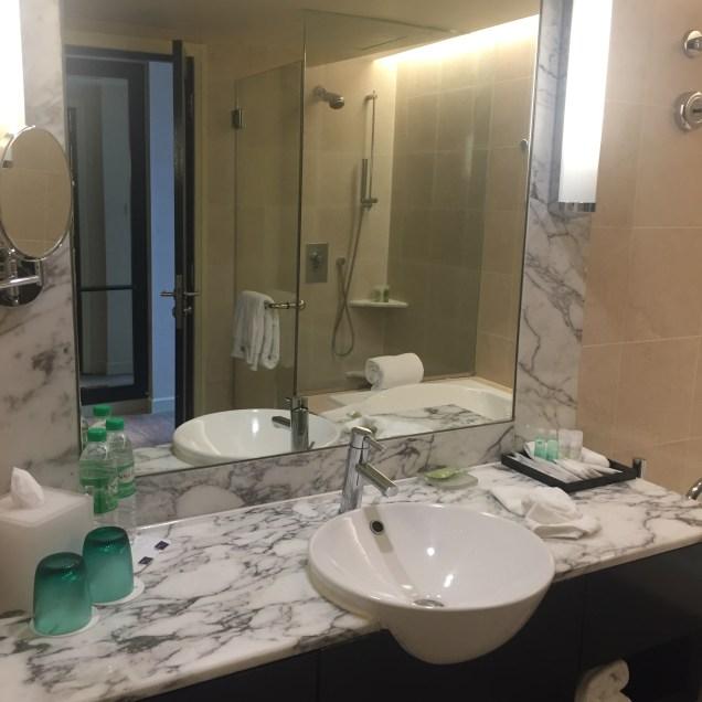 Spotless washroom