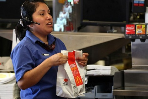 """""""Oh you said Big Mac? We gave you hotcakes and coleslaw….are you sure you didn't order hotcakes and coleslaw?"""""""