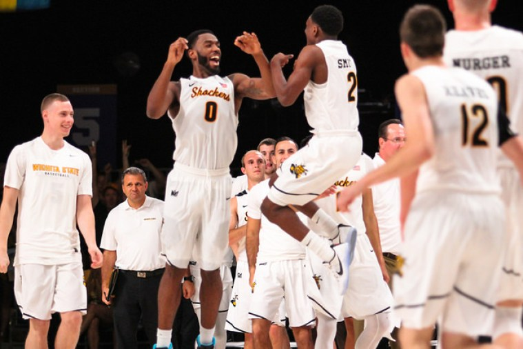 This pretty much sums up what the entire game was like for the Shockers. Not unlike the feeling you get when you get when....nevermind