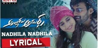 Nadhila Nadhila Song Lyrics