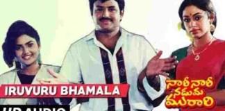 Iruvuru Bhamala Kogililo Song Lyrics