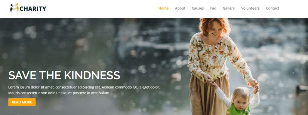 Charity WordPress Theme by DIvi for Free