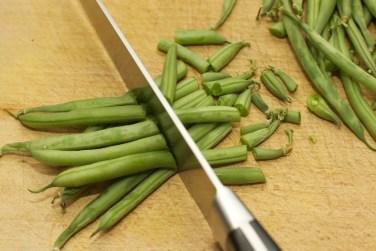 Gele curry met groene groente 7