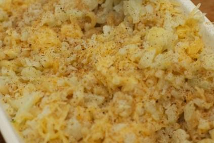 Macaroni met bloemkool en kaas schotel 30