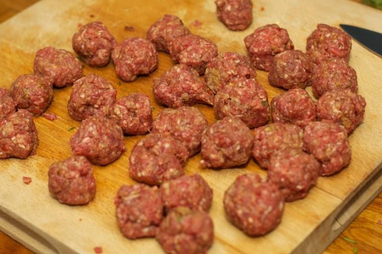 Marokkaanse gehaktballen in tomatensaus met Harissa-saus 42