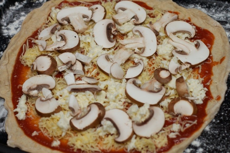 Pizza Funghi 1